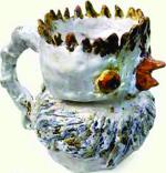 Peça cerâmica de Inês Melo 02